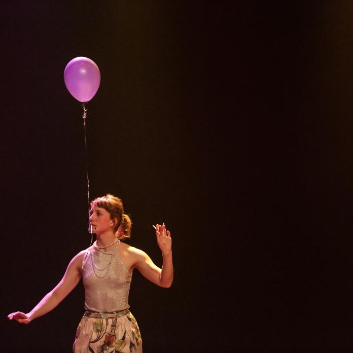 Lucy M. May. Photo: Sylvain Légaré, gracieuseté du Regroupement québécois de la danse
